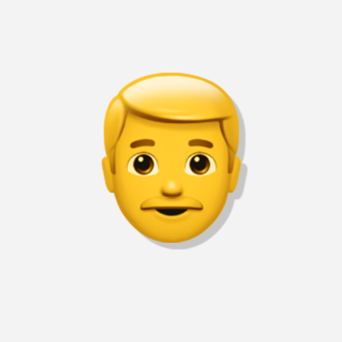 Emojis Mann der Kategorie Person